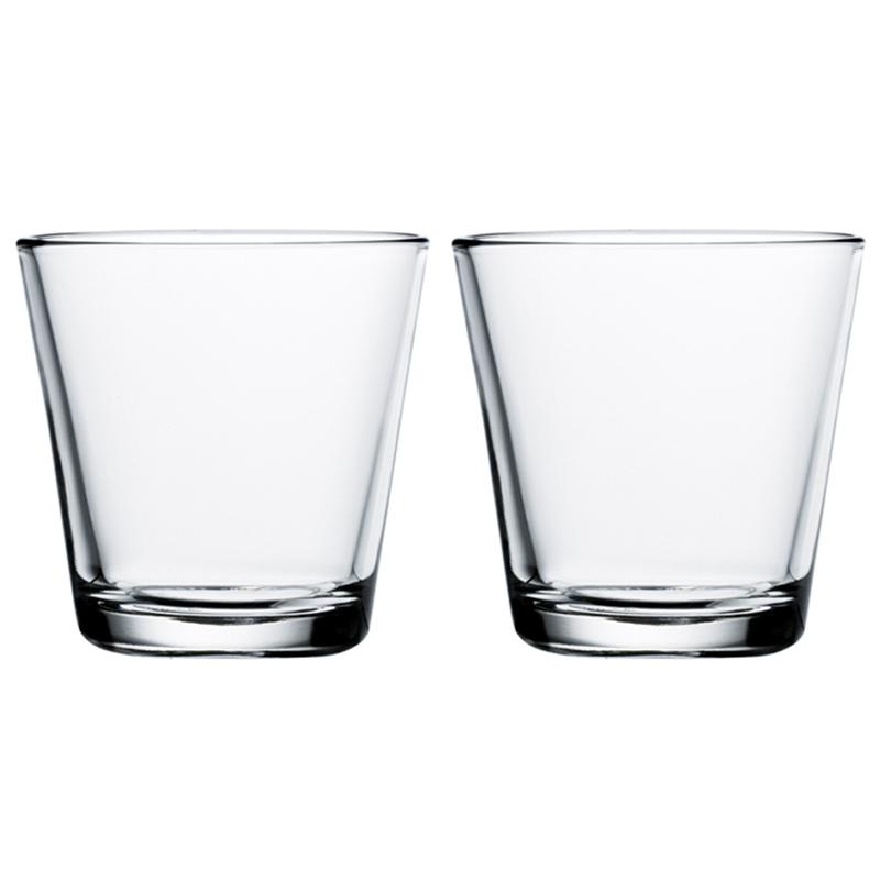 Glas – 210 ml - Klar - 2 Stück Kartio Iittala