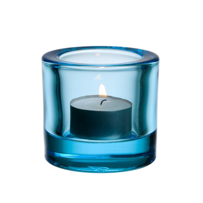 Windlicht – 6 cm - Hellblau Kivi votives Iittala