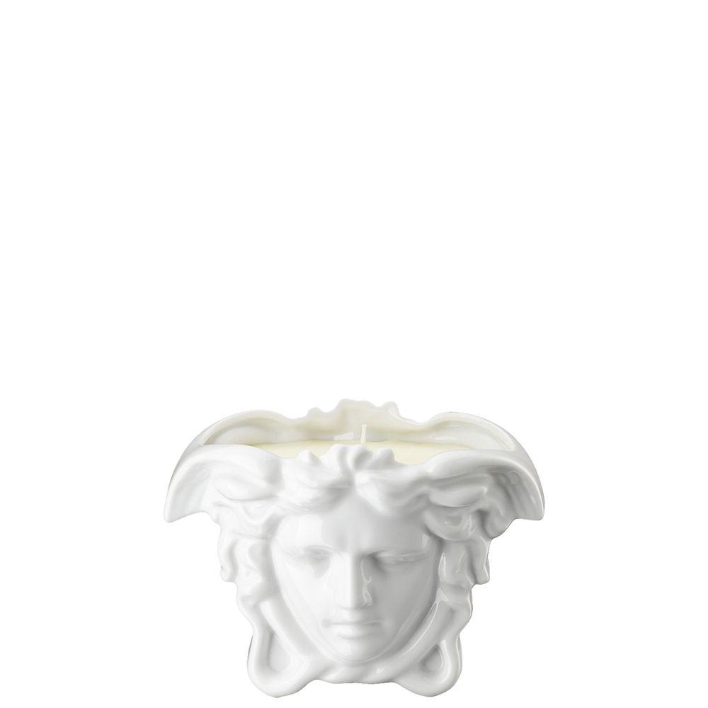 Tischlicht mit Duftwachs Medusa Grande White Versace by Rosenthal
