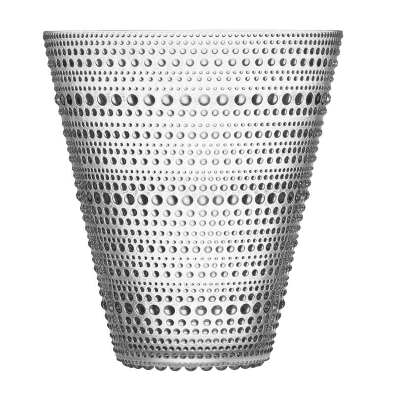 Vase – 15,4 cm - Klar Kastehelmi Iittala