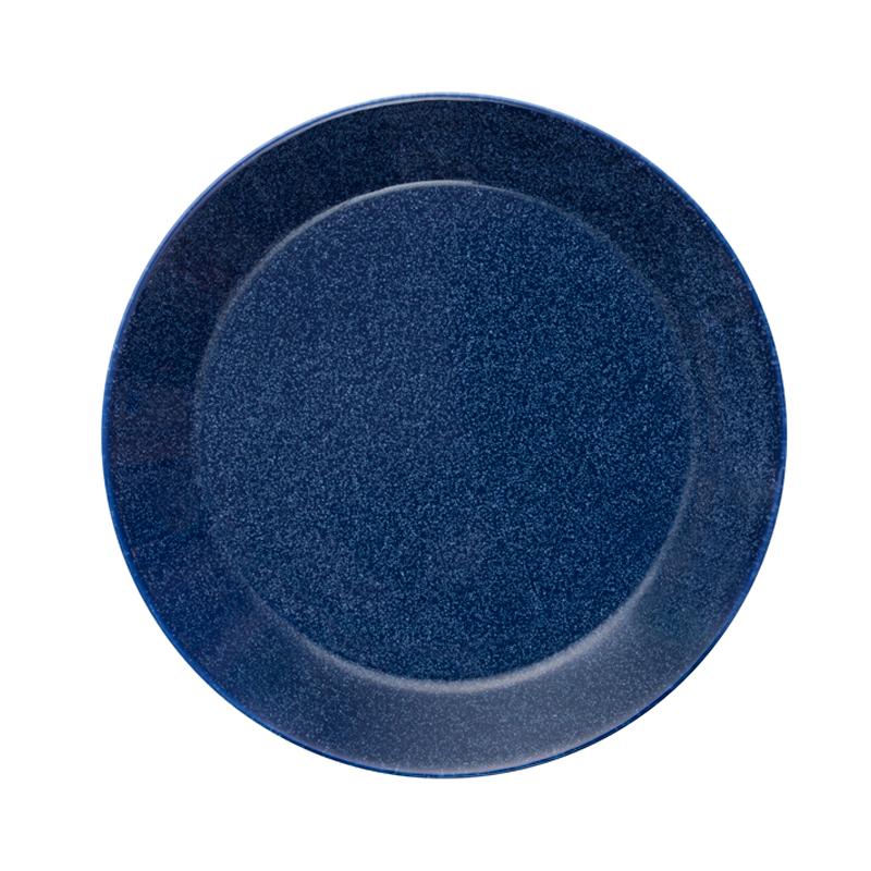 Teller - 21 cm - Duo blau Teema dotted blue Iittala