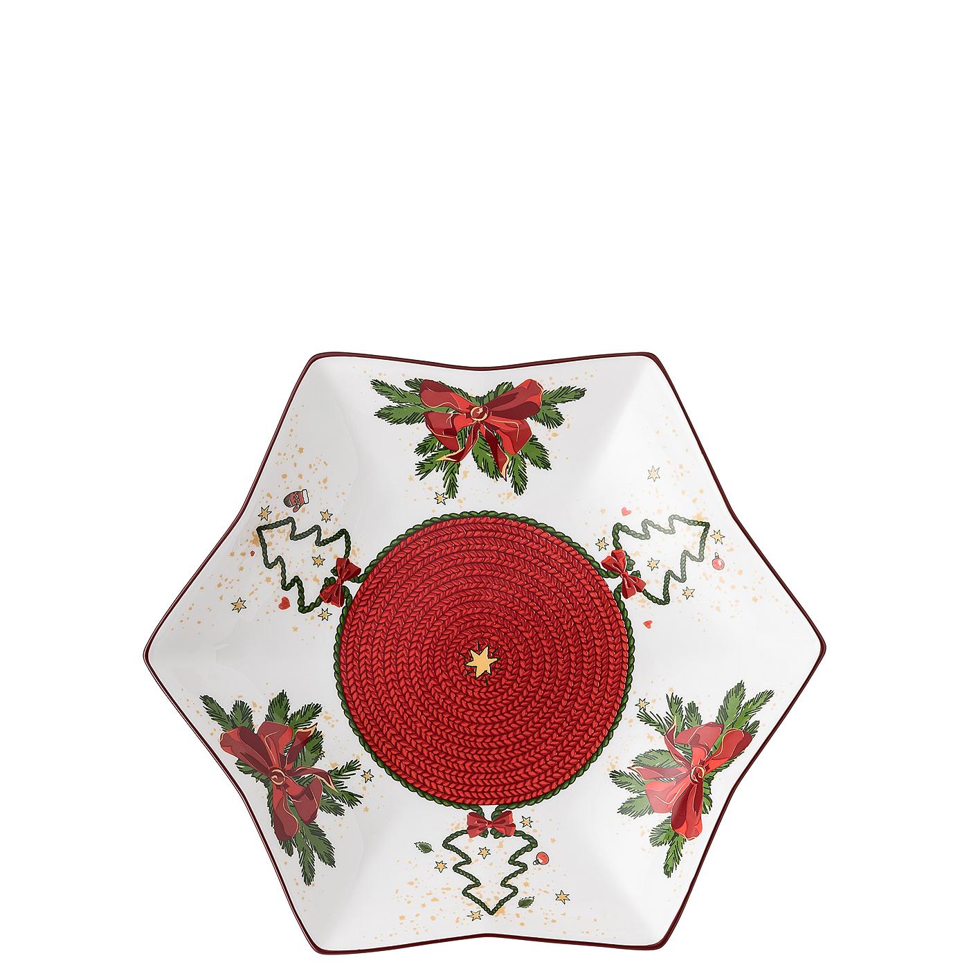 Sternschale 24 cm Nora Weihnachtszeit Hutschenreuther