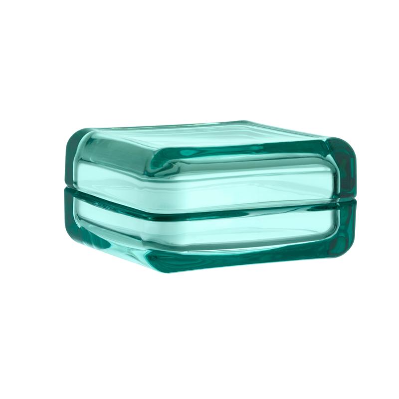 Aufbewahrungsdöschen – 10,8 x 10,8 cm - Seeblau Vitriini Iittala