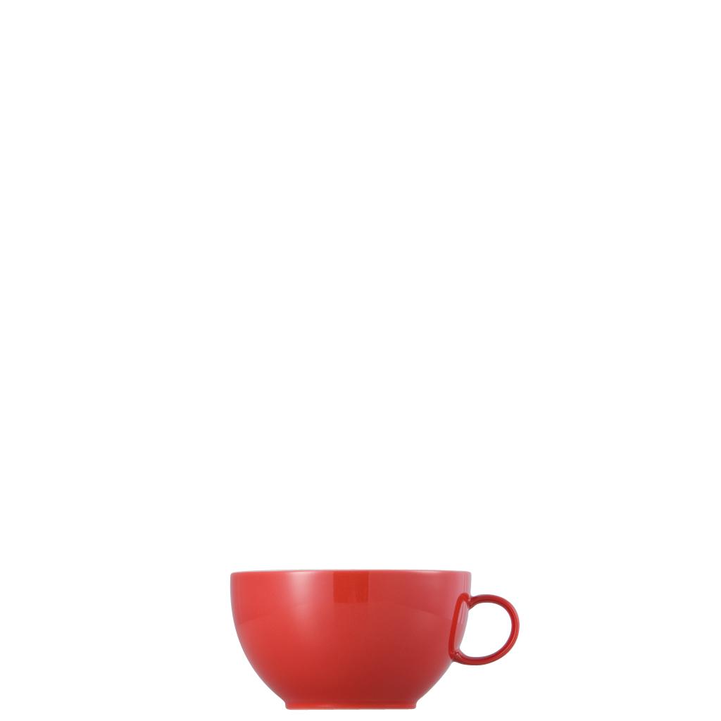 Cappuccino-Obertasse Sunny Day New Red Thomas Porzellan
