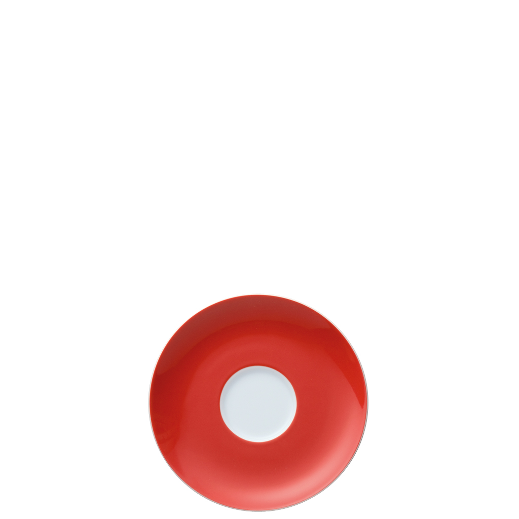 Kaffee-Untertasse Sunny Day New Red Thomas Porzellan