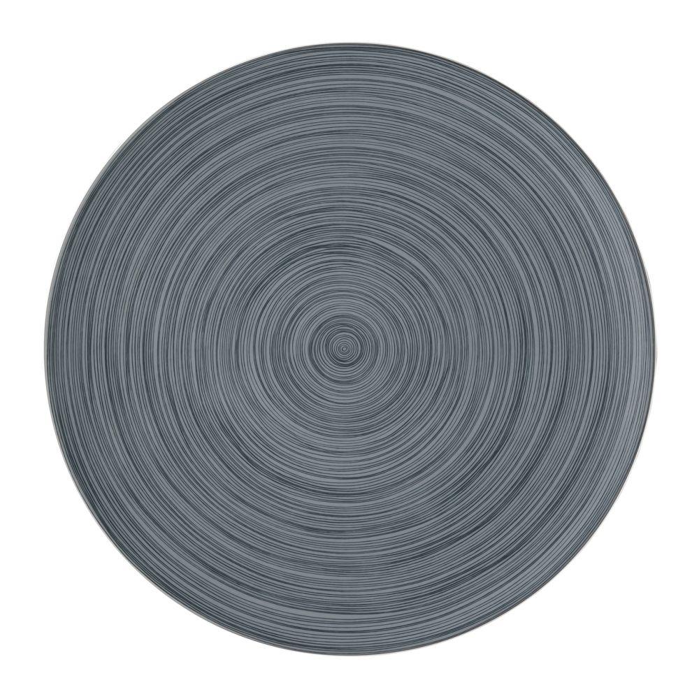 Platzteller 33 cm Matt TAC Gropius Stripes 2.0 Rosenthal Studio Line