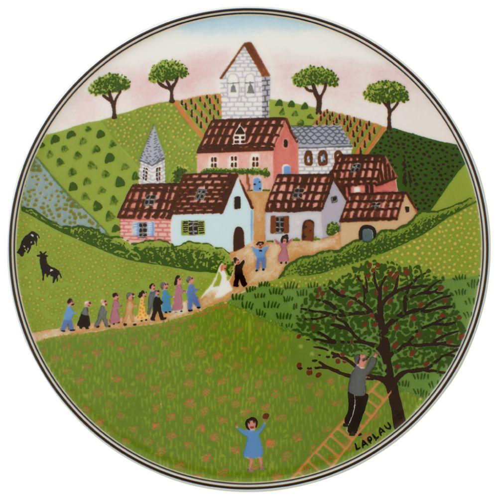 Tortenplatte 30cm Charm&Breakf. Design Naif Villeroy und Boch